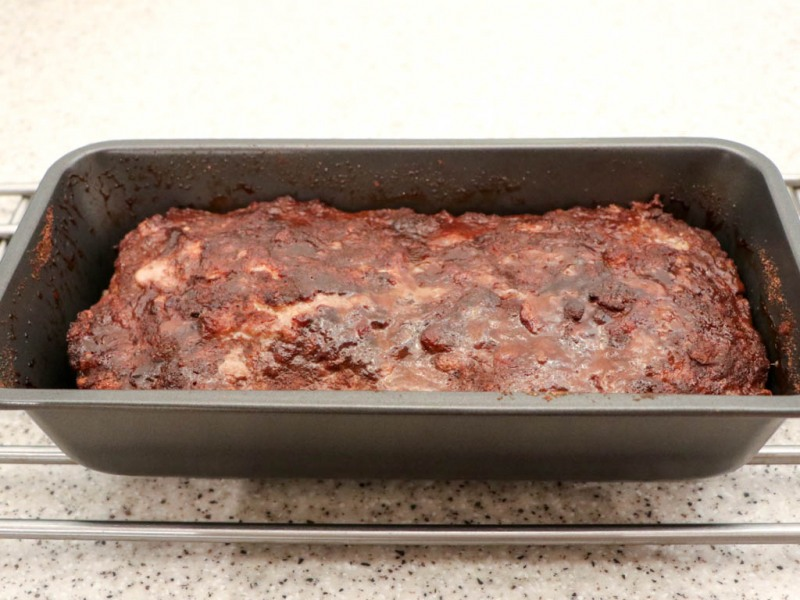 Bake in a moderate oven for about 1¼ hours.