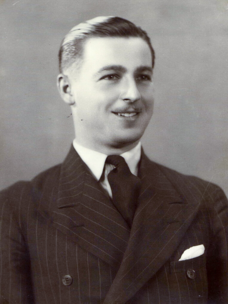 William, Elsie's second son, a focus of a mother's love. Photo source: Proposch Family archives.
