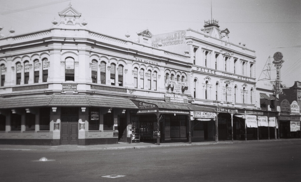 The Central Trading Co was established in the 1940s in the main street of Rockhampton.