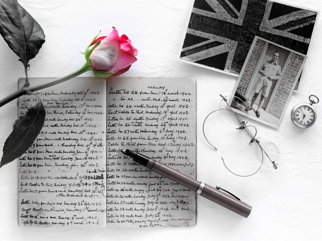 Love in a little black diary