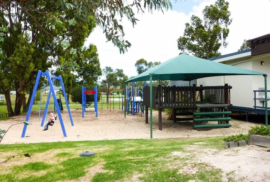 A typical Queensland schoolyard