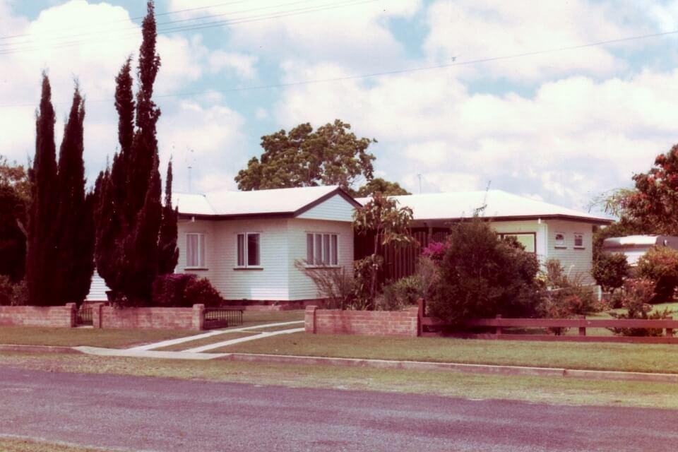 1983: Our Bundaberg home