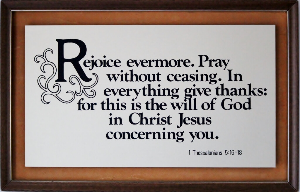 A loving gift - A Bible text plaque