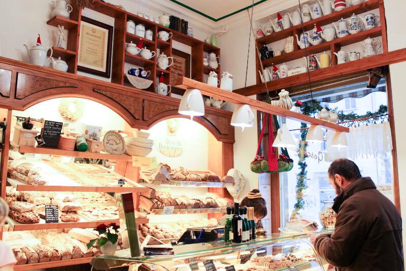 Inside Bio-Bäckerei Schmidt, Cottbus