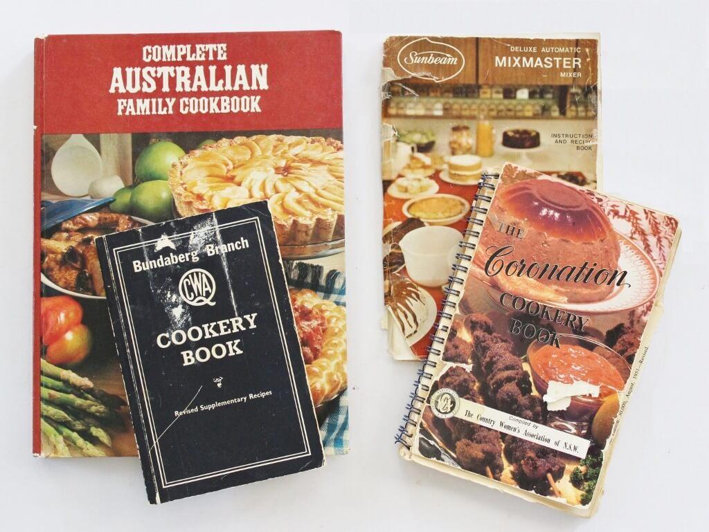 My 1970s recipe books.