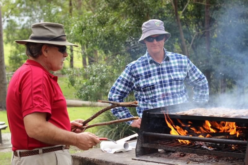 Cook the steaks on a hot barbecue plate. Photo source: Judith Salecich 2016.