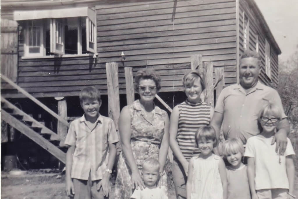 1960s Harold's and Dulcie's house, Rannes