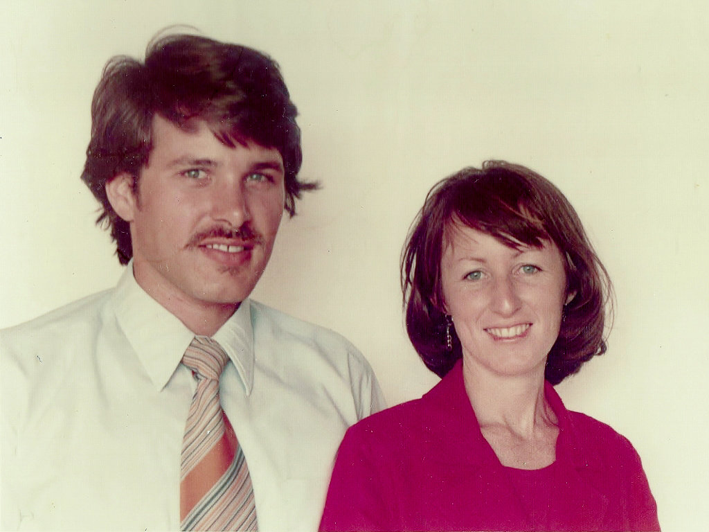 Tony and Judy, second-year teachers. Photo source: Salecich Family archives.