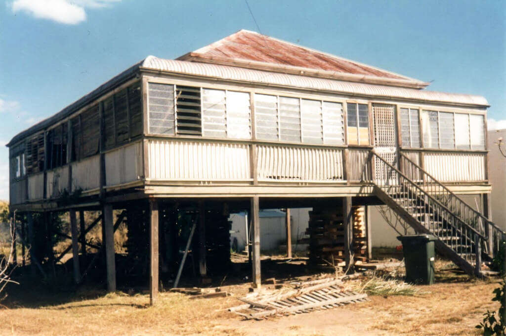 1980s: The house moved and restumped