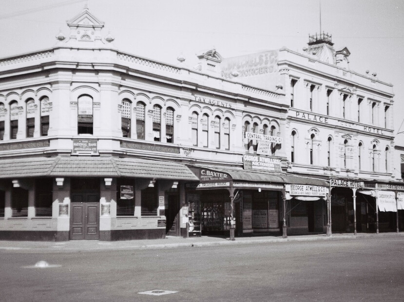 1946: Central Trading Co, 97 East Street, Rockhampton. Photo source: Proposch Family archives.
