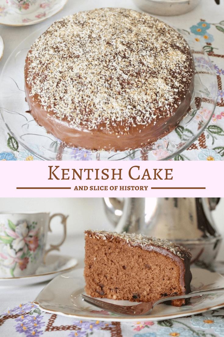 Kentish Cake and Slice of History