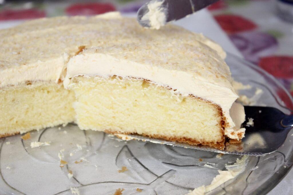 A slice of Ben's 94th birthday cake