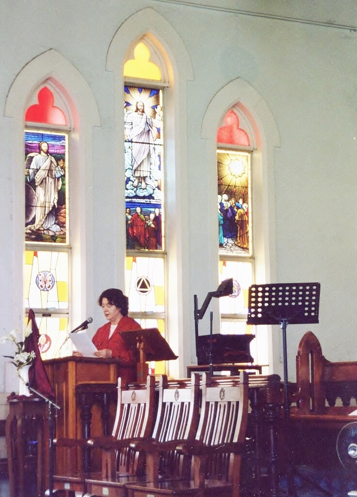 Interior, St Andrew's Presbyterian Church Rockhampton