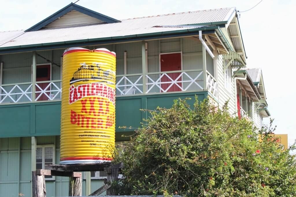 Oversized XXXX beer can, Koumala Hotel