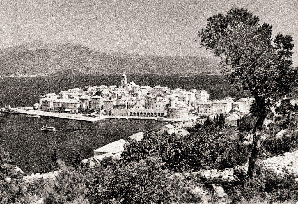 Korčula in the 1950s