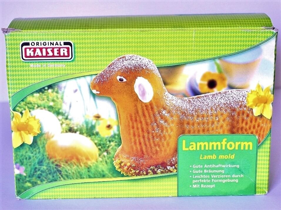 The lamb cake mold I bought in Regensburg. Photo source: Judith Salecich 2012.