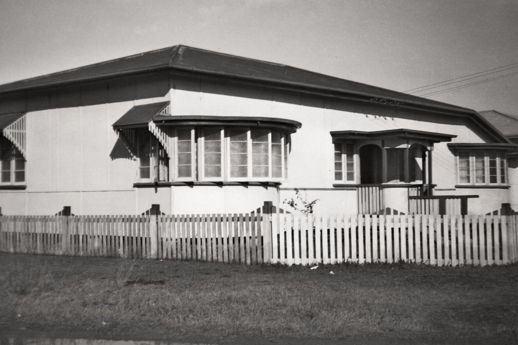Early 1950s. My family's new home in North Rockhampton. Photo source: Proposch Family archives.
