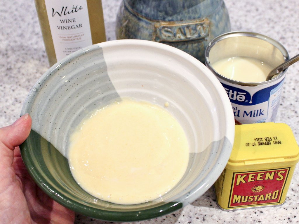 Actually, I tried for myself this 1932 recipe for mayonnaise, and I can vouch for it. It's terrific! Photo source: Judith Salecich 2018.