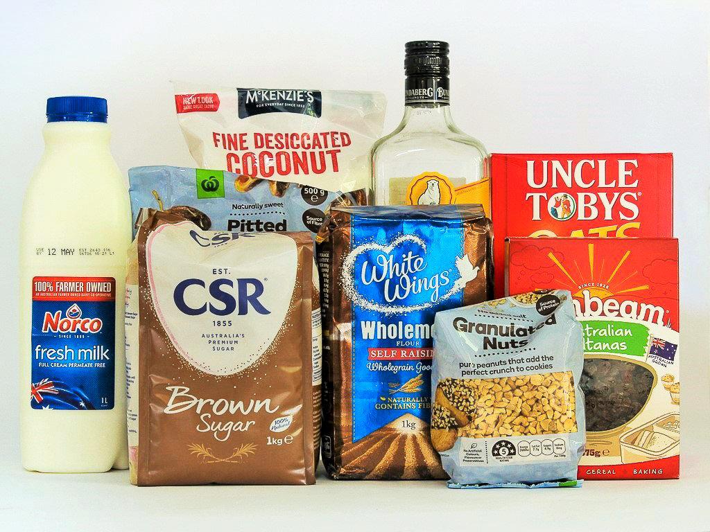 Health Slice ingredients. Photo source: Judith Salecich 2019.
