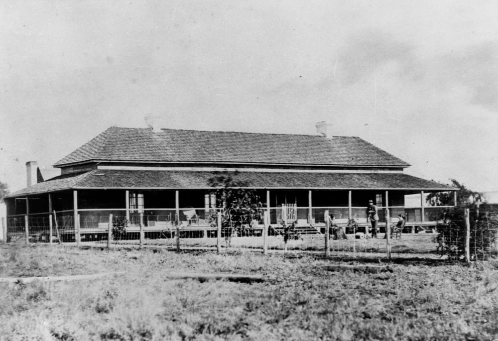 1877. Aramac Station. One of the many stations Rev George Lester visited in course of his ministry. Photo source: State Library of Queensland. Public domain.