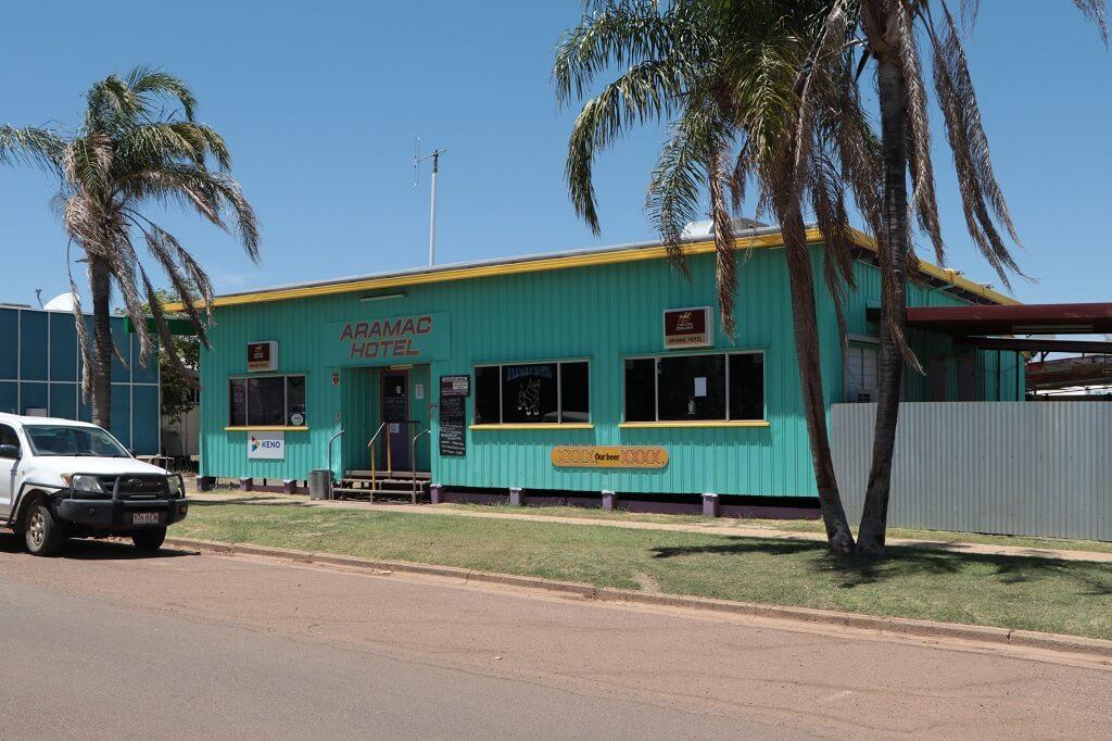 Aramac Hotel, Gordon Street, Aramac, Queensland. Photo source: Judith Salecich 2019.