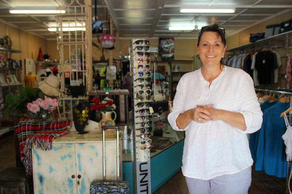 Inside the Culture Shack, we chatted with the owner. Photo source: Judith Salecich 2018.