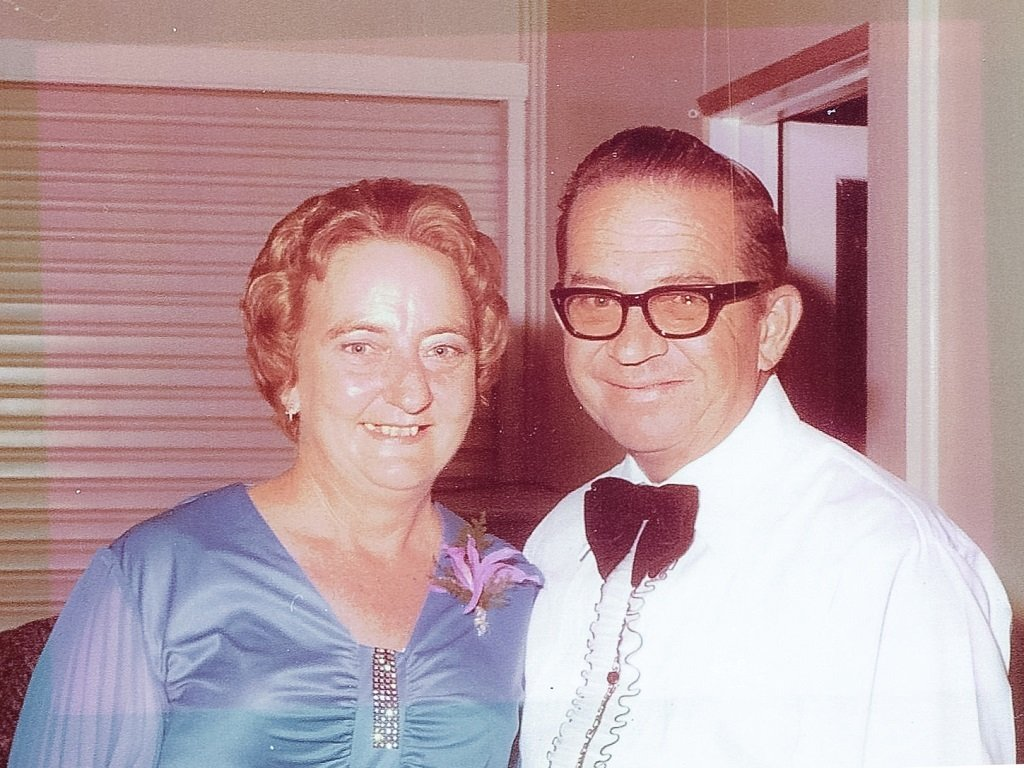 The late Ian and Dot Oliver, of Moura. Photo kindly supplied by Stephen Oliver.
