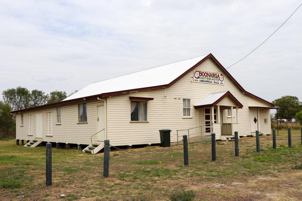 The Cactoblastis Memorial Hall, Boonarga, near Chinchilla, southern Queensland. Photo source: Judith Salecich 2019.