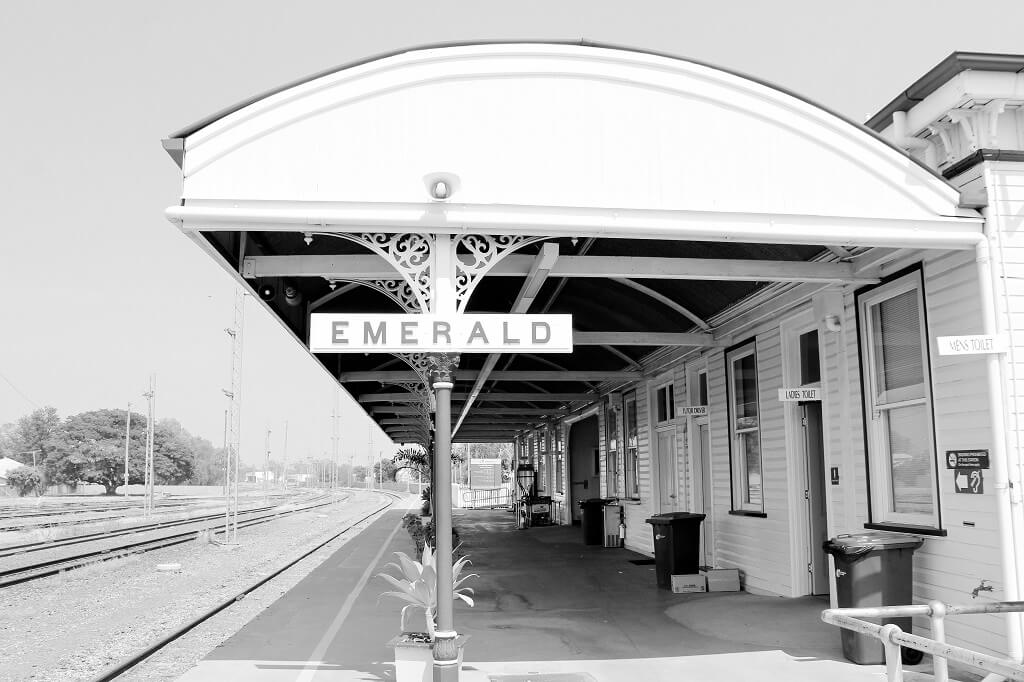 Emerald Railway Station. Photo source: Private collection 2018.