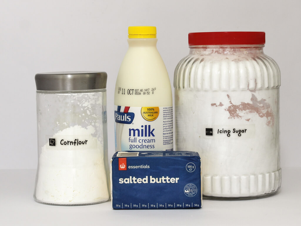 Cream topping ingredients