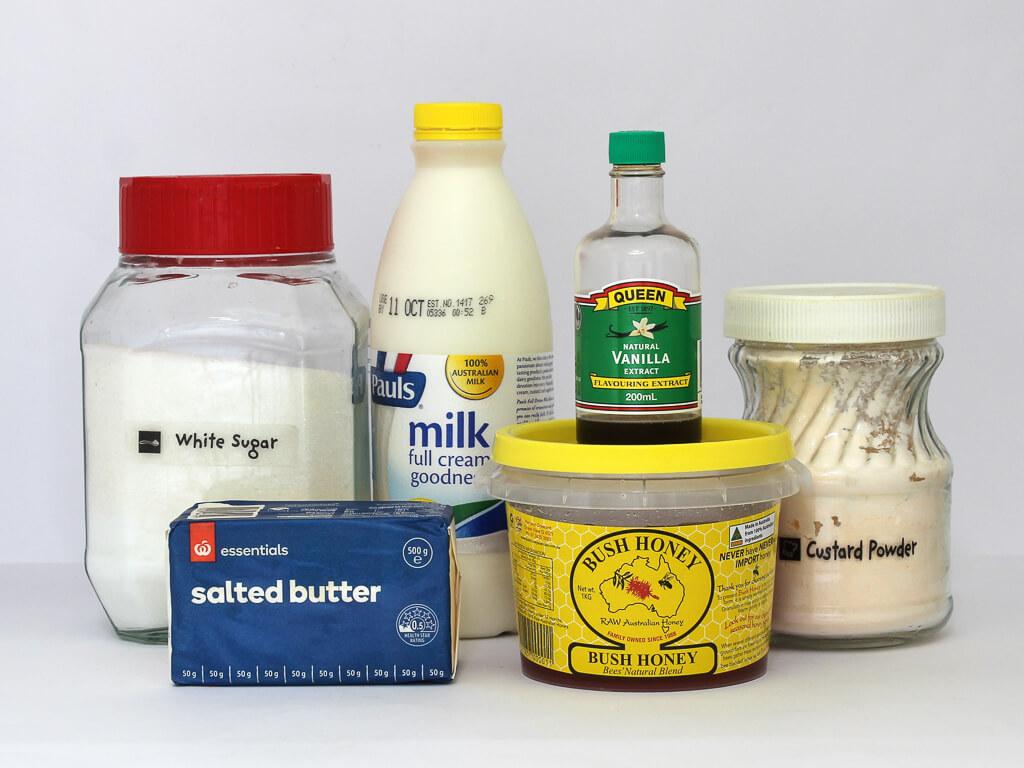 Honey pie filling ingredients