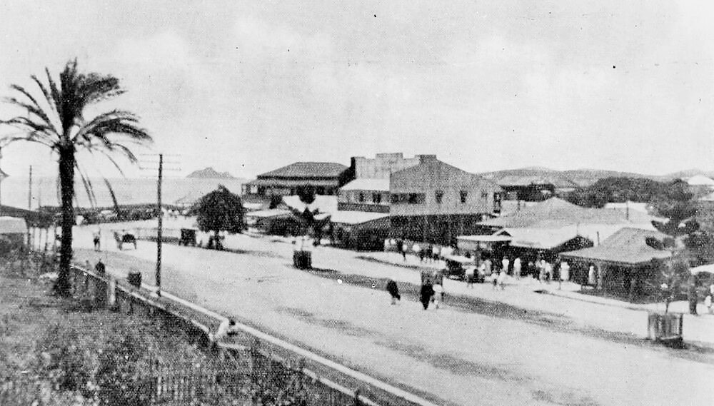 James Street, Yeppoon, in the early 1930s. Photo source: State Library of Queensland. Public domain.