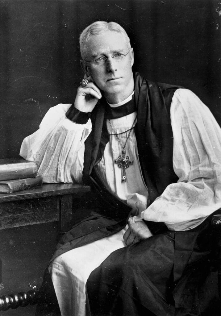 The Right Rev Dr George Halford, second Bishop of Rockhampton, 1909-1920. Photo source: State Library of Queensland. Public domain.