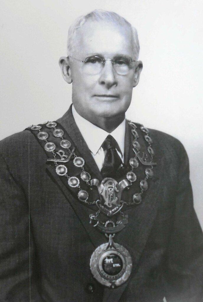 Henry Jeffries, Mayor of Rockhampton (1943-1952). Photo source: The Rockhampton Morning Bulletin archives. Public domain.