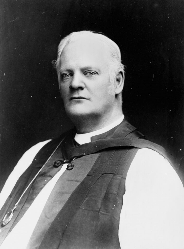 The Right Rev Nathaniel Dawes, first Anglican Bishop of Rockhampton, 1892-1908. He was the first bishop to be consecrated in Australia. Photo source: State Library of Queensland. Public domain.