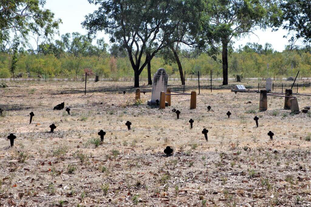 Croydon Cemetery, Queensland.