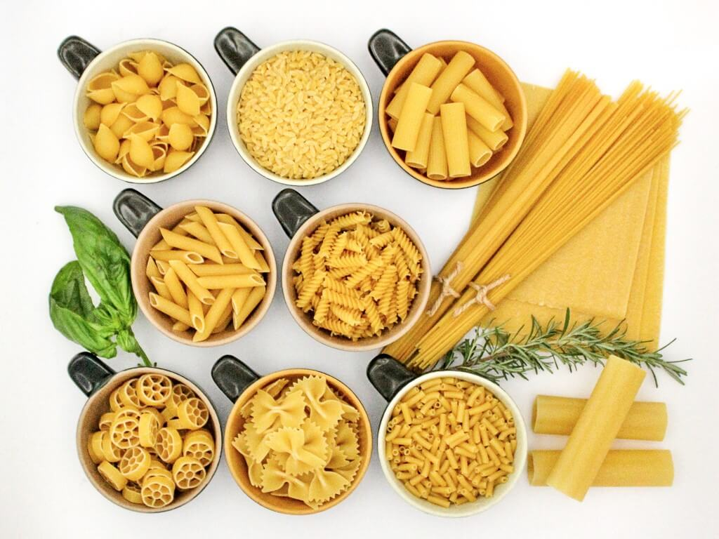 Pasta comes in so many different shapes and sizes. Photo source: Salecich collection 2020.