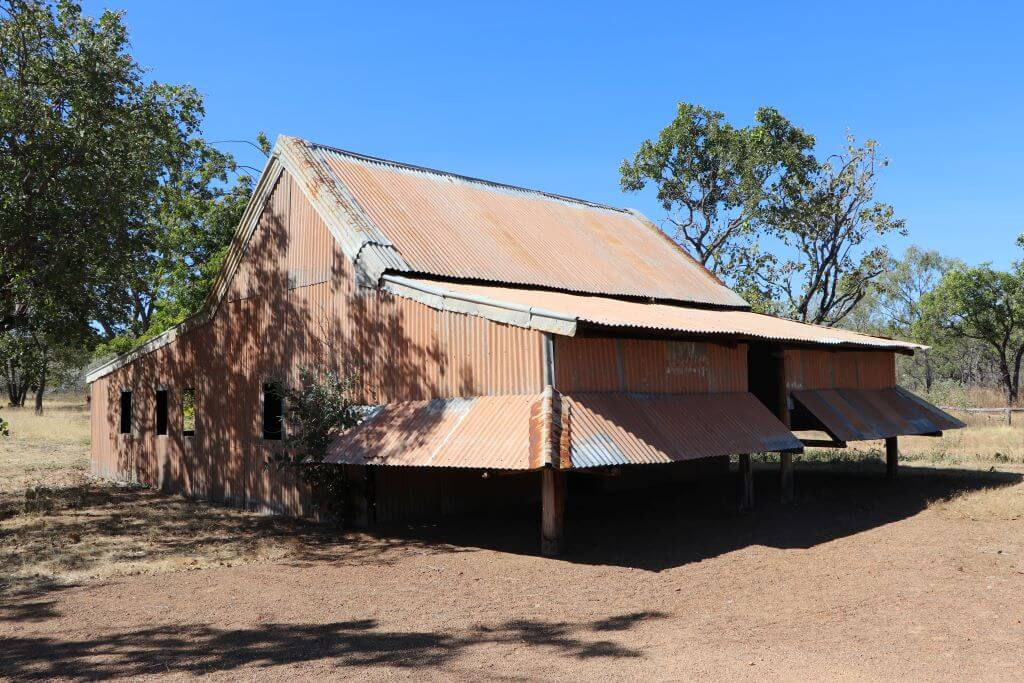 Former Bing Chew family home, now located at the Croydon Mining Museum.