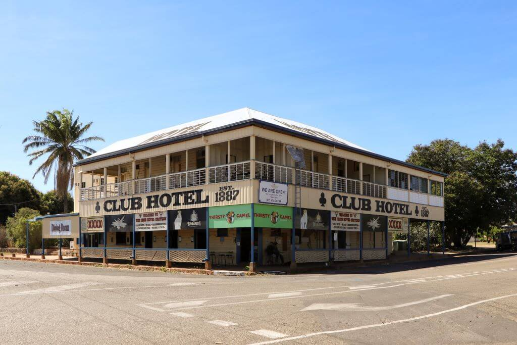 Club Hotel, Croydon, Queensland. Built in 1887.