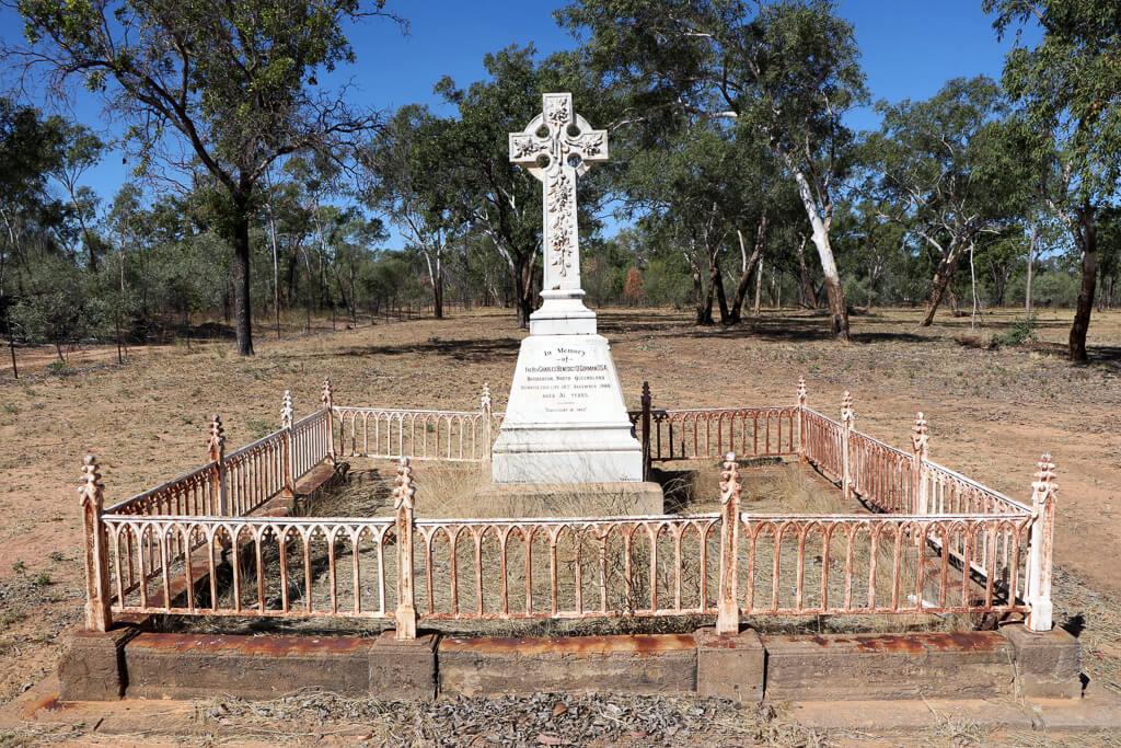 Croydon Cemetery: Grave of Rev Charles Benedict O'Gorman OSA, died 1900