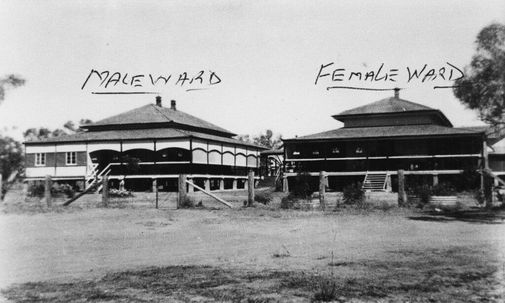 Croydon, Queensland: Former Croydon Hospital.