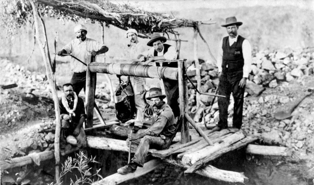 c. 1890. Croydon King Mine, Croydon. Queensland State Archives.