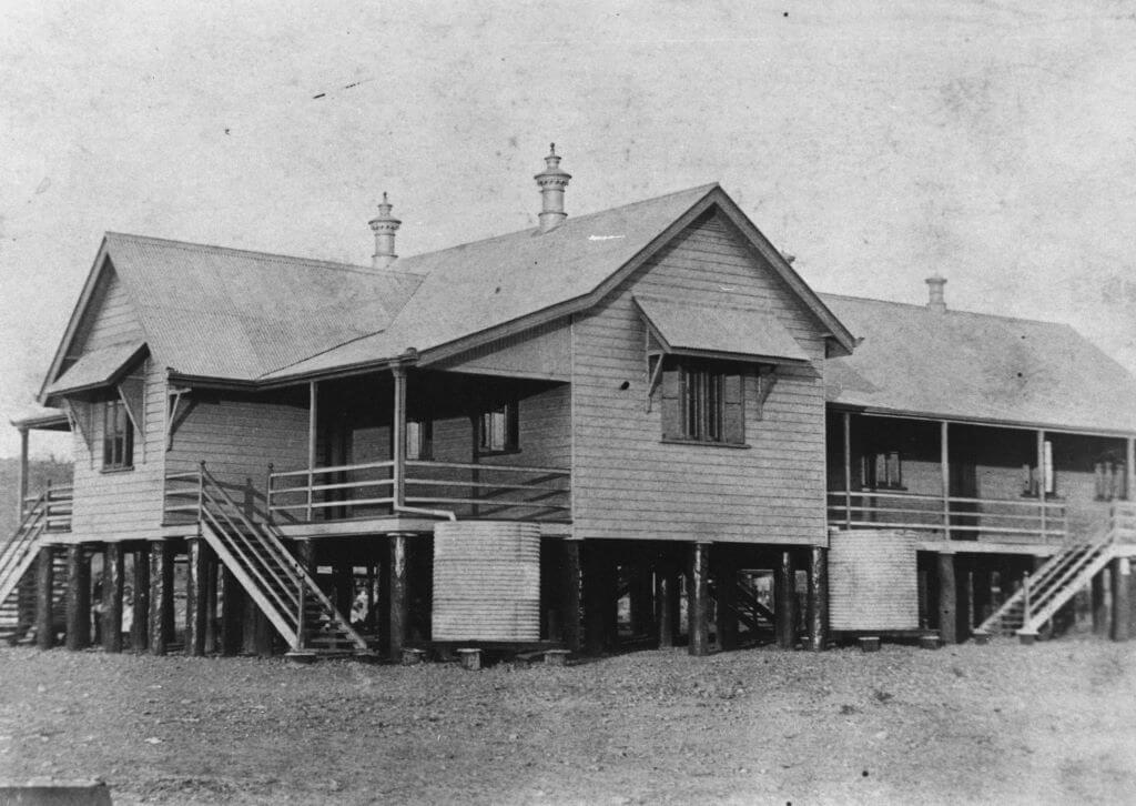 Croydon, Queensland: c. 1893. Croydon State School.