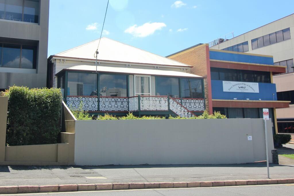 Mama Luigi's, former Italian restaurant, Spring Hill, Brisbane.