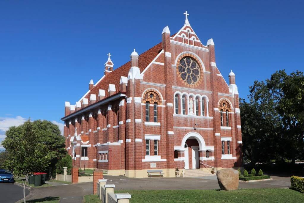 Sacred Heart Catholic Church, Rosalie (Brisbane). Photo source: Salecich collection 2021.