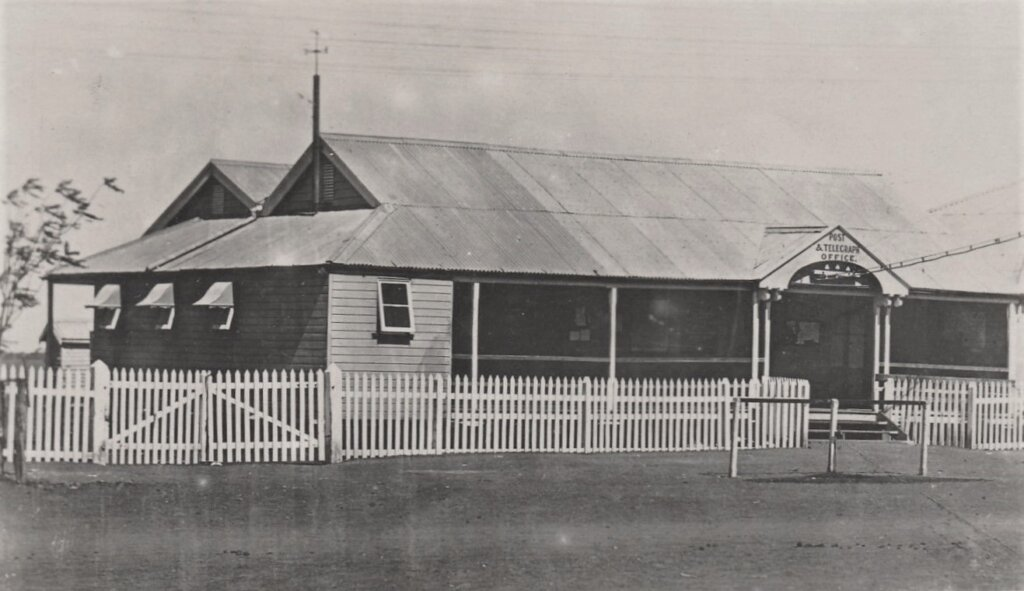 Early 1900s. General Post Office, Winton. Photo source: Flickr. Public domain.