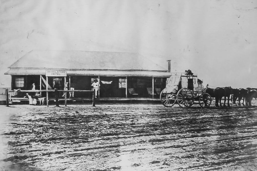 Undated. Middleton Hotel in its early days.
